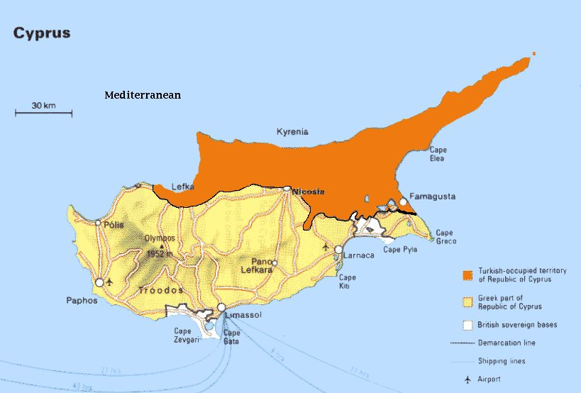 Cyprus turkish occupation